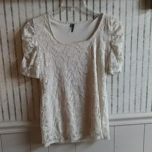 Maurices Laced Top